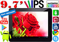 Отличныйпланшет GoClever A971, HDMI, 1Gb RAM, 3G, IPS 9.7'
