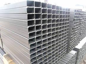 Труба  профильная алюминиевая 40 х 20 х 2 мм прямоугольная 6060 Т6 аналог АД31Т, фото 3