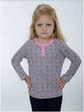 Кофточка блузка детская кофта для девочки розовая, серая Wiktoria