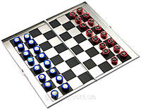 Шахматы магнитные дорожные, алюминий