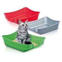 Открытый туалет для кошек, Imac ПОЛЛИ (POLLY) пластик, 1.18кг | 35х25х10 см.