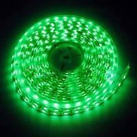 Светодиодная лента LED SMD 3528, 60шт/м, Зеленая, водонепроницаемая, 1 метр