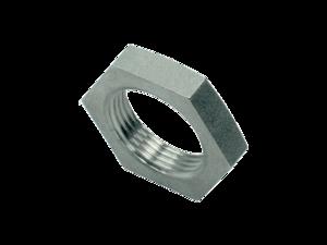 Контргайки для переборочных резьбовых соединений - цилиндрическая резьба