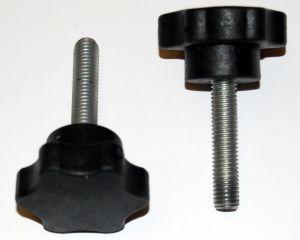 Ручка-звездочка для твердотопливного котла (с болтом М8х60)