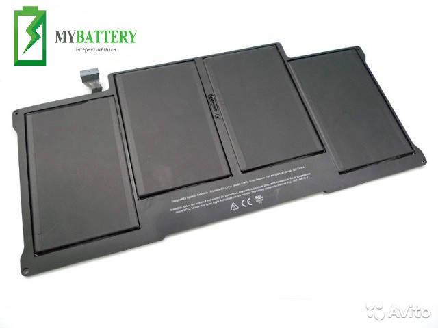 "Аккумуляторная батарея APPLE 13"" A1405 MC503 A1369 A1405 A1466"