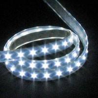 Светодиодная лента LED SMD 3528, 60шт/м, Белая, водонепроницаемая, 1 метр