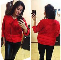 Короткая весенняя куртка-пиджак Мики Маус