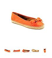 Оранжевые эспадрильи Nine West, фото 1