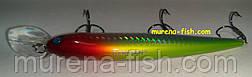 Воблер German Bullet 120 mm (action 0-2.5m ) 18.0g (Цвет 303), фото 3