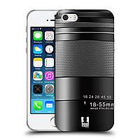 Силиконовый чехол для iPhone 5/5S узор Фотокамера нео
