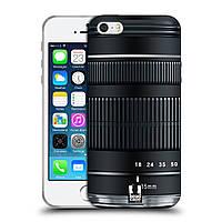 Силиконовый чехол для iPhone 5/5S узор Фотокамера