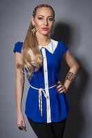 Блуза женская со вставками