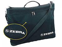 Сумка Zebra_ткн 27271 черный жатка с ремнем черный