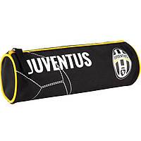"Пенал Kite16 JV16-640 бело-черный ""640 AC Juventus"" 20х6,5х6,5см, полиэстер, 1 отд. на молнии"