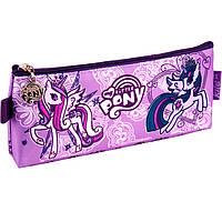 "Пенал Kite16 LP16-641 фиолетовый ""641 My Little Pony"" 20х8х2.5см, полиэстер, 1 отд. на молнии"