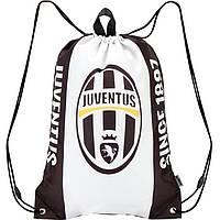"""Сумка для обуви Kite16 JV16-600 бело-черный """"600 AC Juventus"""" 43x31см, полиэстер"""