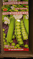 Семена гороха Шестинедельный  (100 грамм) ТМ VIA плюс