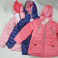 Детская демисезонная куртка на девочку GRACE