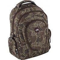 """Рюкзак CF16 CF85270 коричневый """"Regular stile"""" 17"""" 43х32х15,5 см , полиэстер, анатом. спинка, Laptop карман, 3 отделения"""