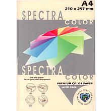 """Бумага пастельных тонов Spectra_Color 100 слоновая кость А4 80гр 500л """"Spectra_Color"""" паст Ivory"""