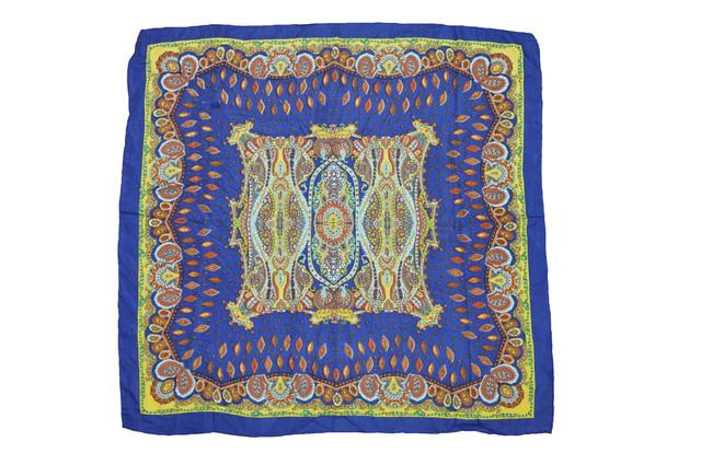 Платок Фелиция синий 3