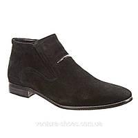 Мужские зимние ботинки ESSE-1216-33-A16 замш скидка