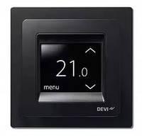 Электронный программируемый терморегулятор DEVIreg Touch (чёрный)