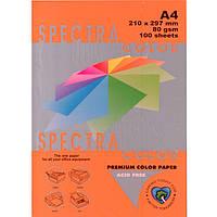 """Бумага насыщенных тонов Spectra_Color 240 оранжевый А4 80гр 100л """"Spectra_Color"""" насыщ"""