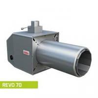 Факельная пеллетная горелка  Pellas X REVO 70 кВт (агропеллетная)