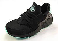 Кроссовки  Nike Huarache черные унисекс(р.40)