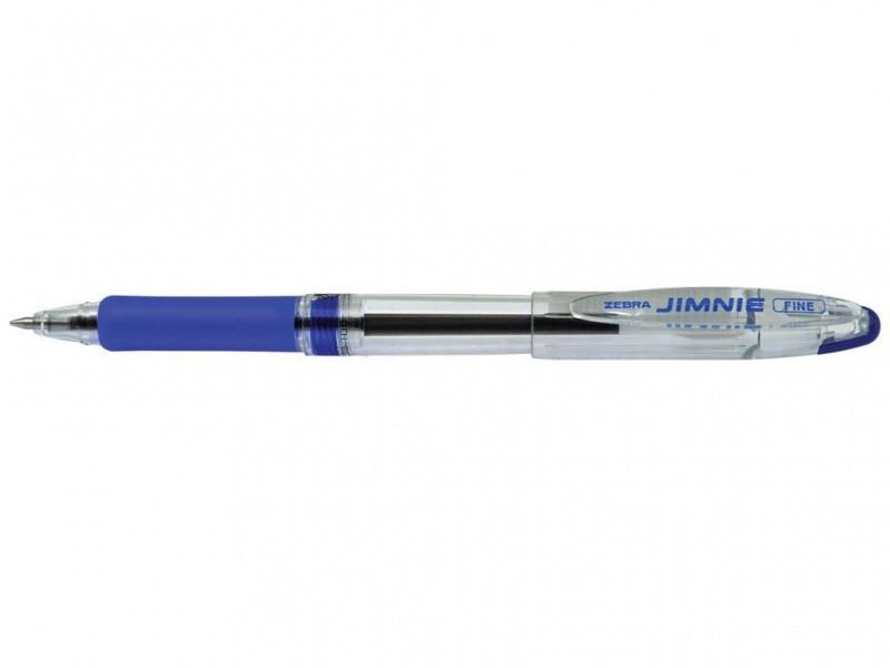 Ручка шариковая Zebra (2)RB 100 BL синий 0.7 мм Jimnie classik