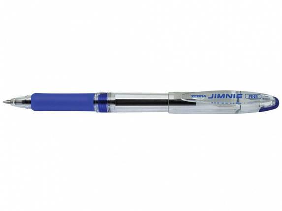 Ручка шариковая Zebra (2)RB 100 BL синий 0.7 мм Jimnie classik, фото 2