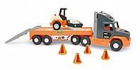 Игровой набор Wader Super Tech Truck с катком (36740)