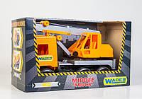 Машина Wader Middle truck кран city (39313)