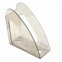 Лоток для документов вертикальные Арника 80612 прозрачный без передней стенки Радуга, прозр