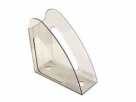 Лотки для документов вертикальные Арника 80611 дымчатый без передней стенки Радуга