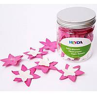 Цветы Heyda 94883391 розовый,белый 4,2см, 2.5см, 80шт набор бумажных цветов