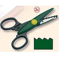 Фигурные ножницы Folia 94076786 14*6,5 см фигурные №2с