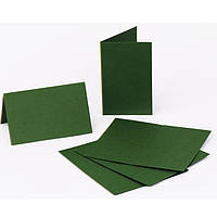 Набор заготовок для открыток Fabriano 94099051 темно-зеленый 5шт, 10,3х7cм, №11,220г/м2,