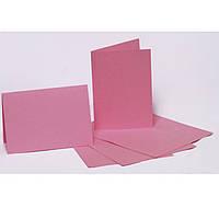 Набор заготовок для открыток Fabriano 94099005 бледно-розовый 5шт, 10,3х7cм, №6,220г/м2,