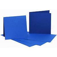 Набор заготовок для открыток Fabriano 94099033 темно-синий 5шт, 16,8х12см, №4,220г/м2