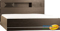 VOX PL- Classic Кровать двухместная с изголовьем с полками (1400х2200)