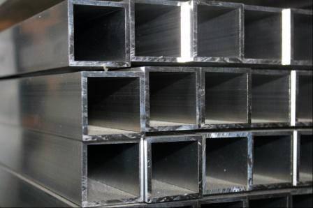 Труба  алюминиевая квадратная  20 х 1.5 мм, фото 2