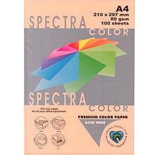 "Бумага пастельных тонов 2866502 А4 80гр 100л ""Spectra_Color""  паст  Peach"