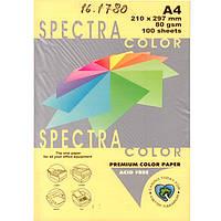 """Бумага пастельных тонов Spectra_Color 160 желтый А4 80гр 100л """"Spectra_Color""""  паст"""