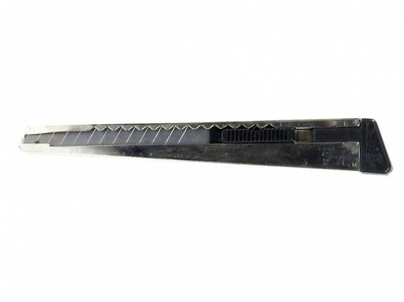Нож канцелярский Eagle TY40 микс 9мм мет с лезв, фото 2