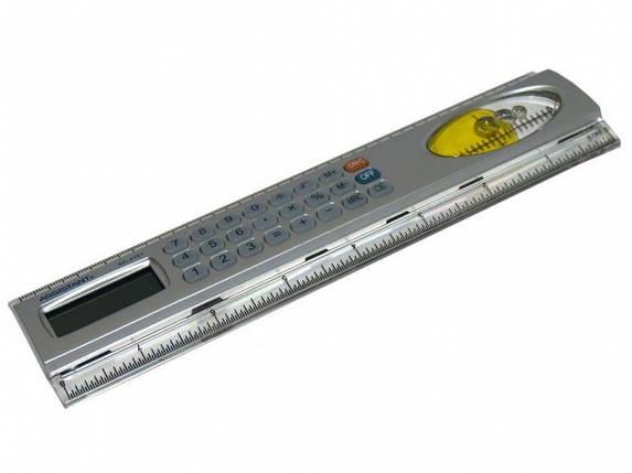 Калькулятор специальный Assistant АС-4101 8 разряд, 53х215х10, с линейк, резин кн, фото 2