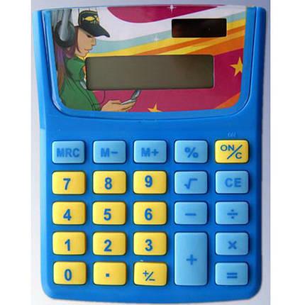 "Калькулятор карманный J_Otten 6406 микс 8 разряд детский ""Скейт"", фото 2"