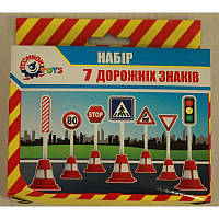 """Технок набор """"7 дорожних знаков"""" 4357"""