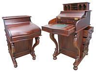Письменный стол Девенпорт из красного дерева